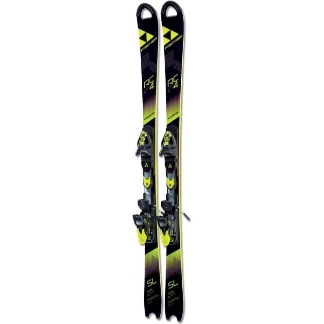 Fischer RC4 WC SL Junior Slalom Skis Race Plate 130cm Ski Only (2018)