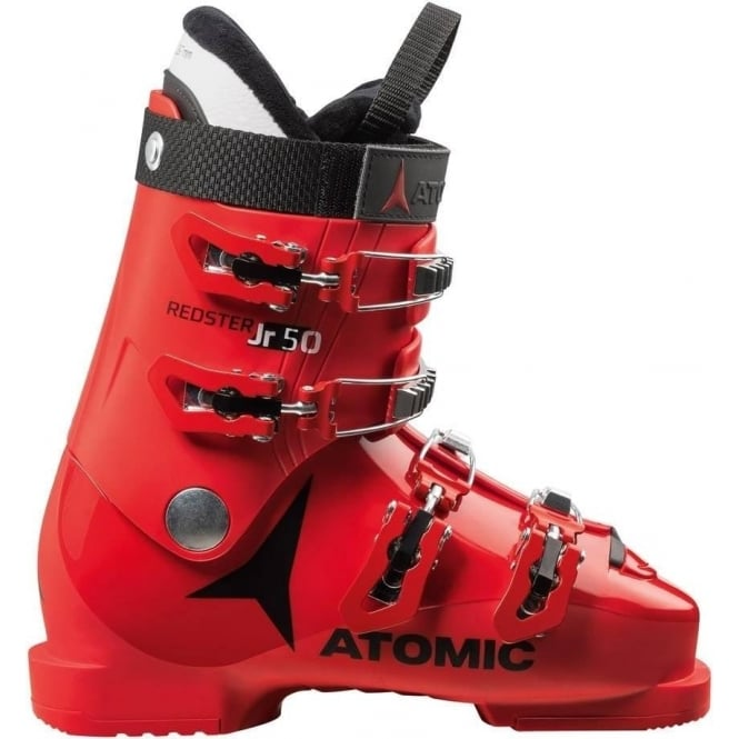 Atomic Junior Ski Boots Redster 50 - Red