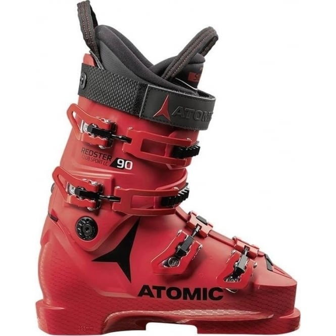 Atomic Junior Ski Boots Redster Club Sport  90 Lc - Red