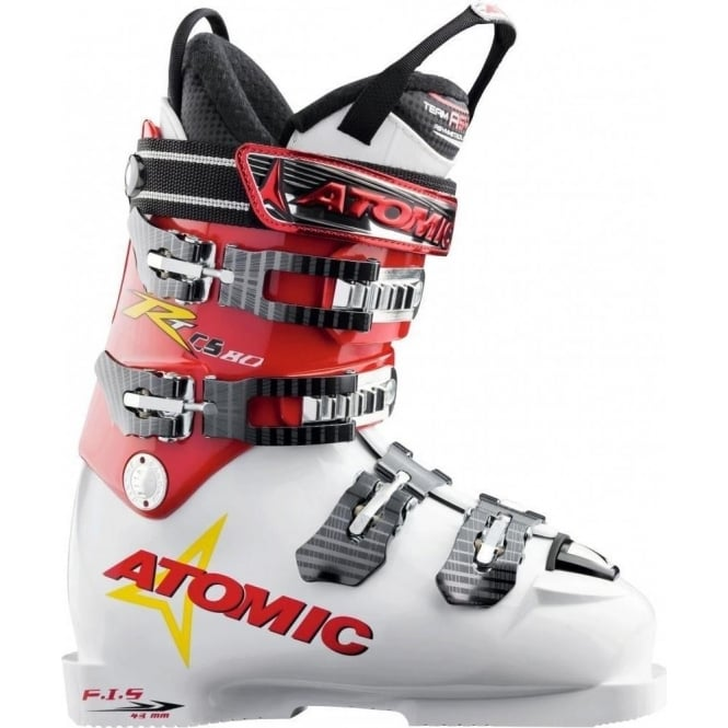 Atomic Junior Ski Boots Rt Cs 80 - White/Red