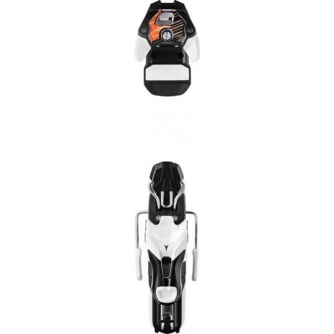 Atomic Rec. Binding N Warden 11 B90 - White/Black/Orange