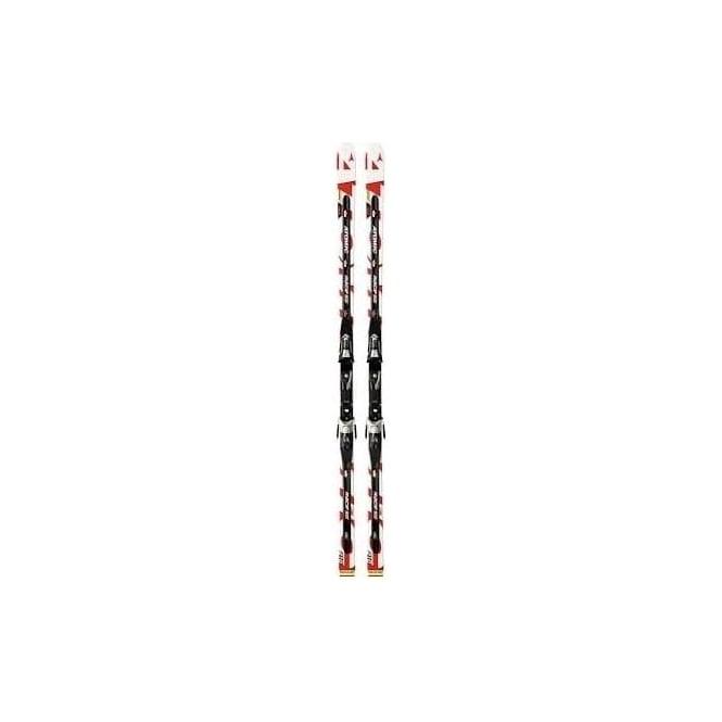 Atomic Junior Race Skis D2 SG 195cm - Red/White