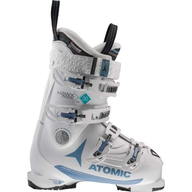 Atomic Hawx Prime 90W Bindings - White/Blue