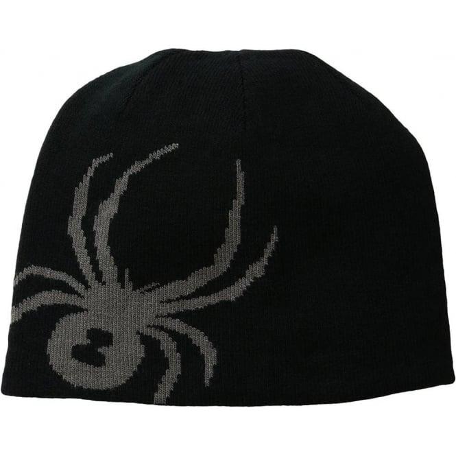 Spyder Men's Reversible Innsbruck Hat - Black