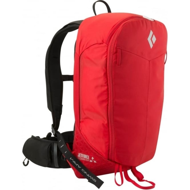 Black Diamond Pilot 11 M/L Jet Force Avalanche Airbag Backpack - Red