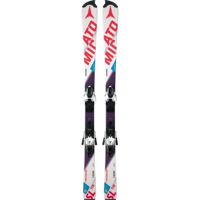 Atomic Redster FIS JUNIOR RPJ Slalom Race Skis 138cm + Z10 2017