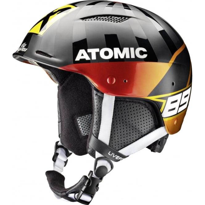 Atomic Marcel Redster Lf Slalom Ski Race Helmet Chin