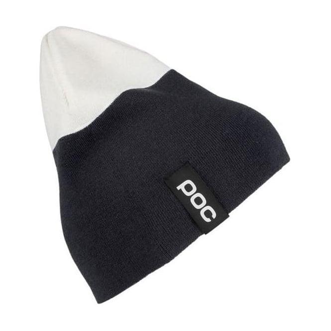 POC 2-Colour Beanie Uranium Black/ Hydrogen White