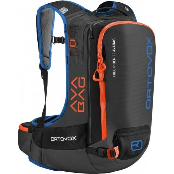 Ortovox Free Rider 22 Avalanche Backpack - Black Anthracite