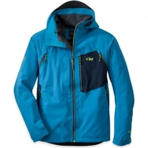 Mens Valhalla Jacket - Blue