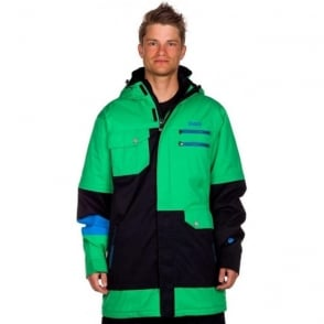 Mens Xavier Pro Jacket - Green/Black