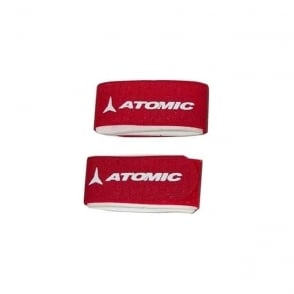 Atomic Red Ski Tie Strap PAIR