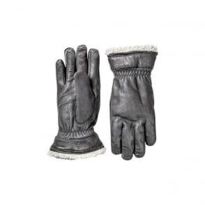 Wmns Deerskin Primaloft Glove - Black