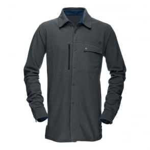 Mens Roldal Warm1 Shirt - Cool Black