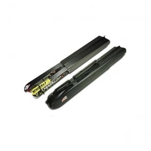 2 Pair Hard Ski Case - Colour Black