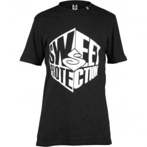 Protection Mens Corner T-Shirt - True Black