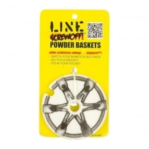 Screwoff Powder Baskets 90mm