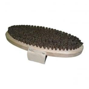 Horsehair Flat Oval Brush (Soft)