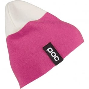 2 Coloured Beanie - Pink/White