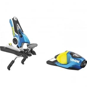 Junior Race Bindings SPX 10 (3-10 DIN) Blue/Yellow