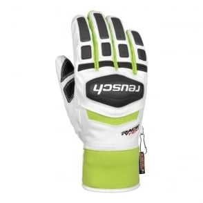 R-TEX XT Race Training Gloves - White/Green