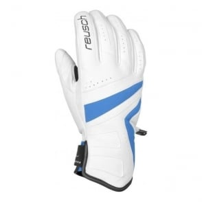 Wmns Mikaela Media Dry Race Gloves - White/Blue