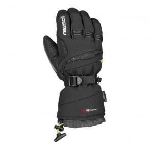 Reusch Unisex Volcano GTX Glove - Black/Neon Green