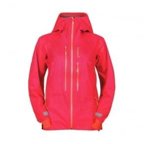 Wmns Lyngen Driflex3 Jacket - Red