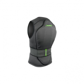 Slytech Backpro Back Protector Vest One Black/Green