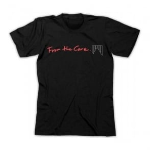 Shred Mens T-Shirt From The Core - Black