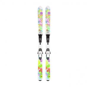 K2 Luv Bug Skis 136cm+Fastrak2 7 Binding