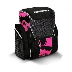 Ski Race Bootbag/Backpack 72L - Black/Pink