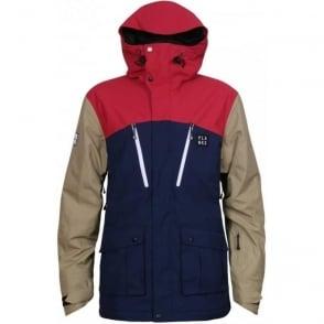 Men's Good Times 2 Layer Tech Jacket - Navy Blue