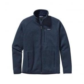 Mens Better Sweater Fleece Jacket - Classic Blue Navy