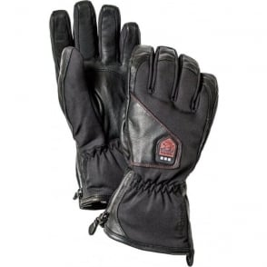Power Heater Unisex Rechargeable Heated Glove - Black