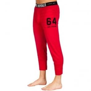 Men's Base Layer Long John 3/4 - Red