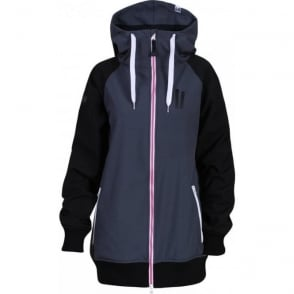 Wmns Reuninon Soft Shell Jacket - Grey