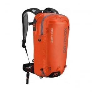 Ascent 22 Avabag Avalanche Airbag Backpack - Crazy Orange