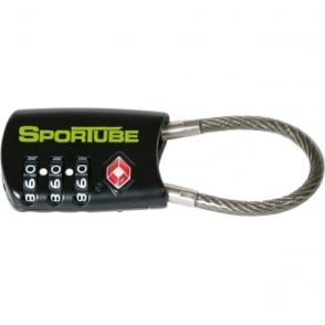 Luggage Sportube TSA Approved Combination Cable Lock