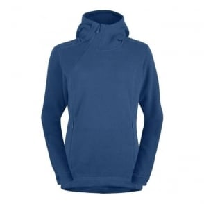 Womans Mid Layer Roldal Polartec Thermal Pro Hoodie Denimite