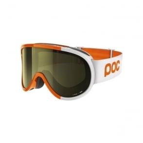 Retina Comp Goggles Zinc Orange Smokey Yellow Lens (Plus Spare Clear Lens)