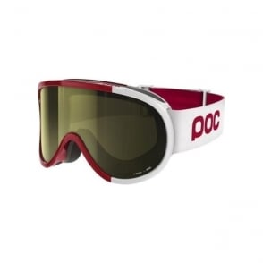 Retina Comp Goggles Glucose Red Smokey Yellow Lens (Plus Spare Clear Lens)