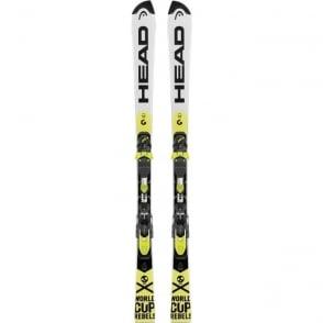 World Cup Rebels i.SL Team Junior Slalom Race Skis 138cm + EVO 11 Bindings (2018)