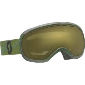 Off Grid Goggles - Green Chrome