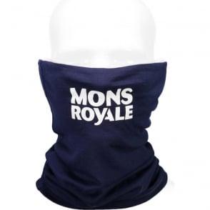 Mons Royale Double Up Vert Neckwarmer - Navy
