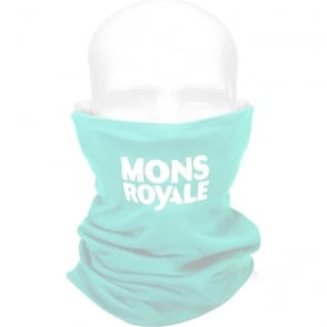 Mons Royale Double Up Vertical Neckwarmer - Peppermint