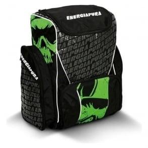 Race Bootbag/Backpack Large 72L - Black/Green with Ski Bartlett Embroidered Badge