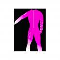 Energiapura Adult Unpadded Race Catsuit Lycra BOLD Pink