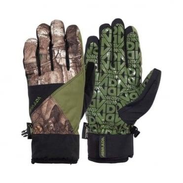 Unisex Delta Gore-Tex XCR Glove - Black/Green/Brown