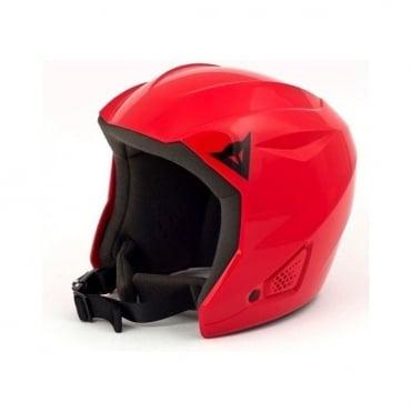 Junior Snow Team Ski Helmet - Red